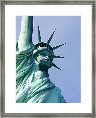 Liberty Crown Framed Print by Richard Reeve