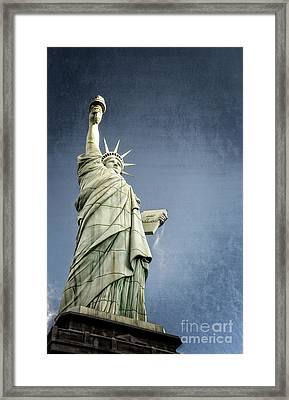 Liberty Enlightening The World Framed Print by Charles Dobbs