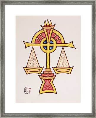 Libra Framed Print by Ian Herriott