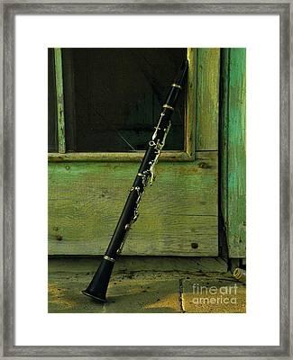 Licorice Stick Framed Print by Joe Jake Pratt