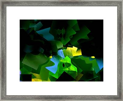 Life In Abstract - 001 Framed Print by Dave Stubblefield
