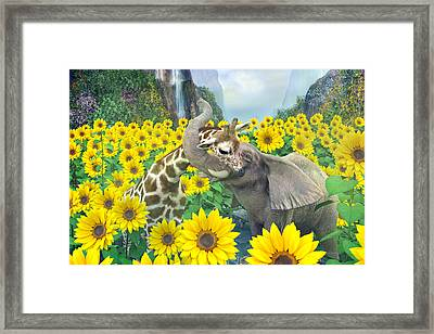 Life Is Good Framed Print by Betsy Knapp