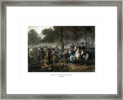 Life Of George Washington - The Soldier Framed Print by War Is Hell Store