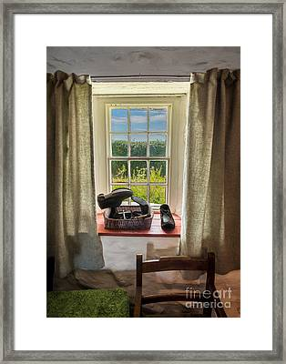 Life Of The Cobbler Framed Print by Adrian Evans