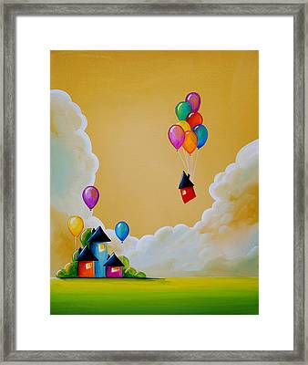 Life Of The Party Framed Print by Cindy Thornton