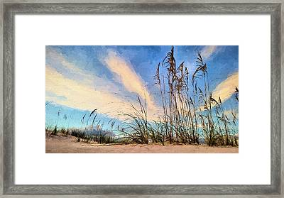 Life Off 30a Framed Print by JC Findley