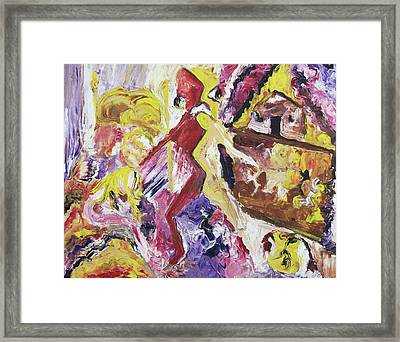 Life Torn Apart Framed Print by Suzanne  Marie Leclair