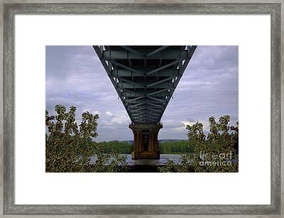 Life Under A Bridge Framed Print by The Stone Age