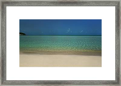Life's A Beach Framed Print by Betsy Knapp