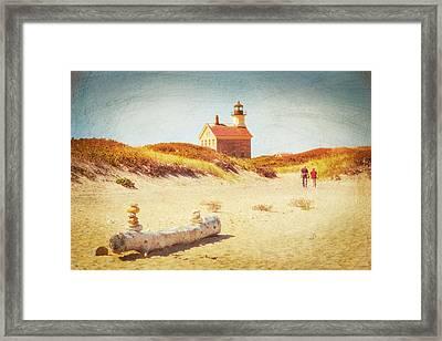 Lifes Journey Framed Print by Karol Livote