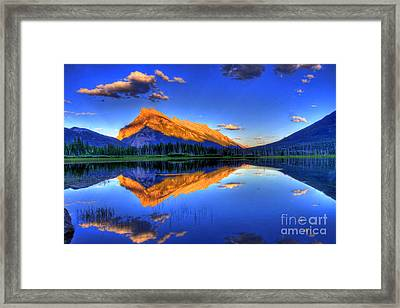 Life's Reflections Framed Print by Scott Mahon