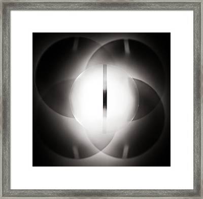 Light And Shadow Framed Print by Aileen Mozug