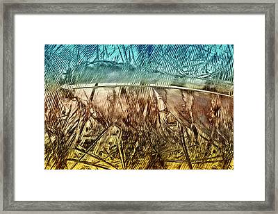 Light As A Feather Framed Print by Becky Titus