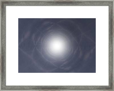 Light At The End Of The Tunnel Framed Print by Thomas  MacPherson Jr