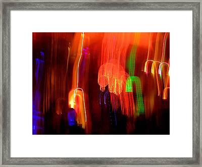 Light Falling Framed Print by Elizabeth Hoskinson