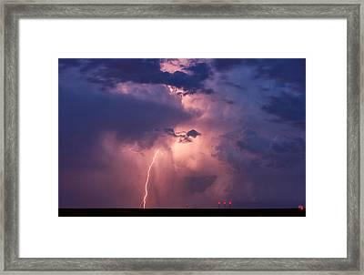 Light From Within Framed Print by Darren  White
