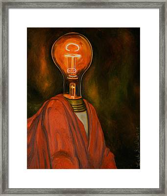 Light Headed 2 Framed Print by Leah Saulnier The Painting Maniac