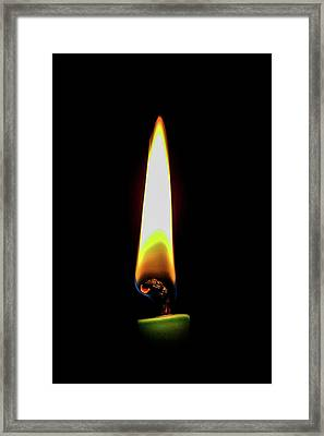 Light In The Darkness Framed Print by Mao Lopez