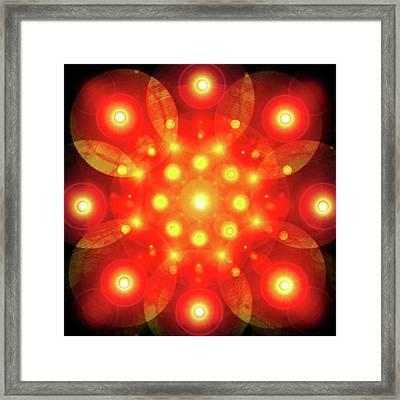 Light-mandala No. 02 Framed Print by Ramon Labusch