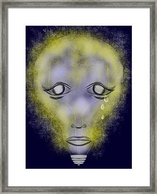 Light Out Framed Print by Mathieu Lalonde