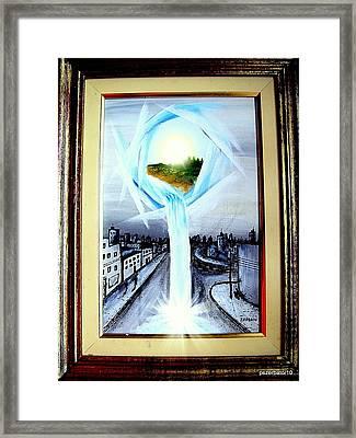 Light Portal Framed Print by Paulo Zerbato