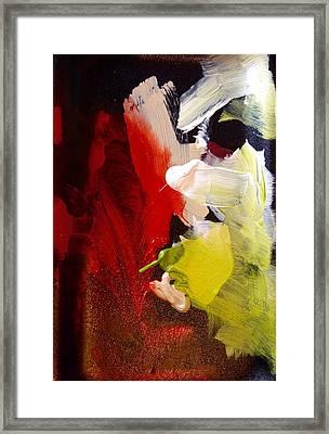 Light Show I Framed Print by Anna Villarreal Garbis