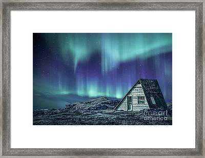 Light Up My Darkness Framed Print by Evelina Kremsdorf