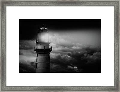 Lighthouse Framed Print by Bob Orsillo