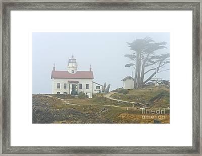 Lighthouse Framed Print by Inga Spence