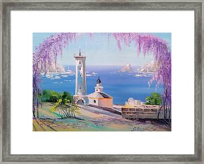 Lighthouse Framed Print by Olha Darchuk