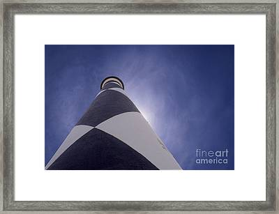 Lighthouse Framed Print by Rob Byron