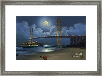 Lighting The Way Home Framed Print by Al Hogue