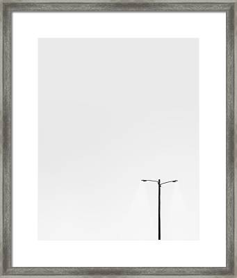 Lighting The Way Framed Print by Scott Norris