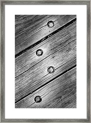 Lightning Bolt Framed Print by Luke Moore
