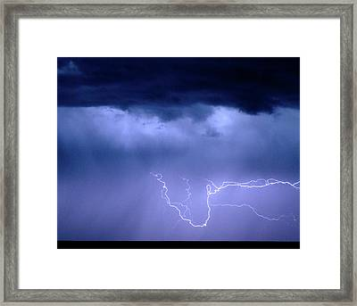 Lightning Rodeo Framed Print by James BO  Insogna