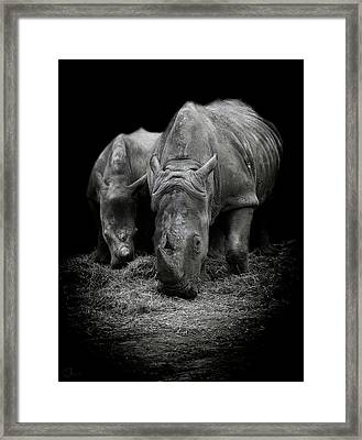 Like Father Like Son Framed Print by Paul Neville