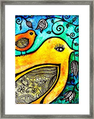 Like Mother Framed Print by Robin Mead