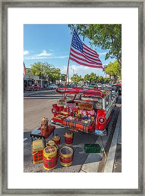 Like The 4th Of July Framed Print by Peter Tellone