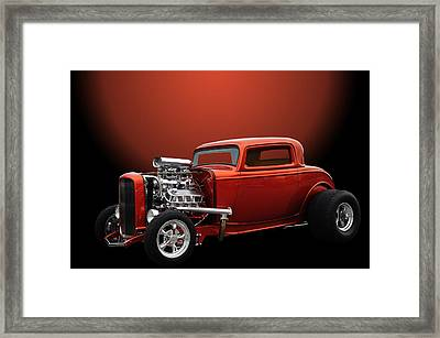 Lil Deuce Coupe Framed Print by Jim  Hatch