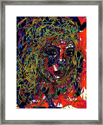 Lila Framed Print by Natalie Holland