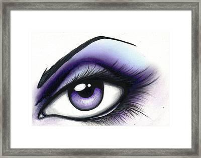 Lilac Framed Print by Elaina  Wagner