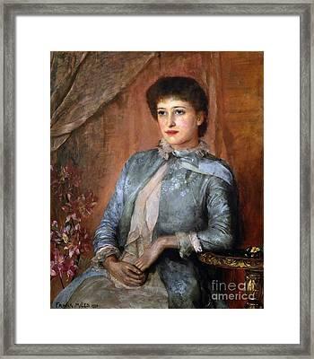 Lillie Langtry Framed Print by George Frank
