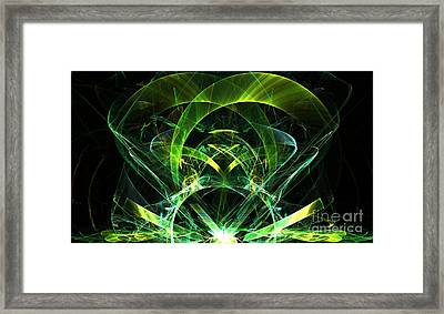 Lime Jewel Framed Print by Kim Sy Ok