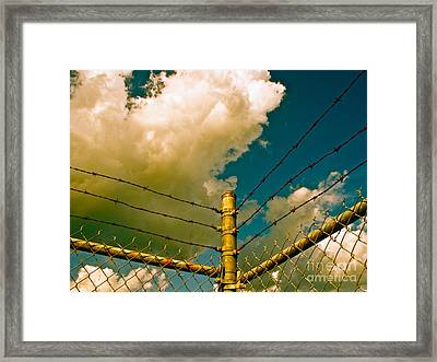 Limits And Freedom Framed Print by Chuck Taylor