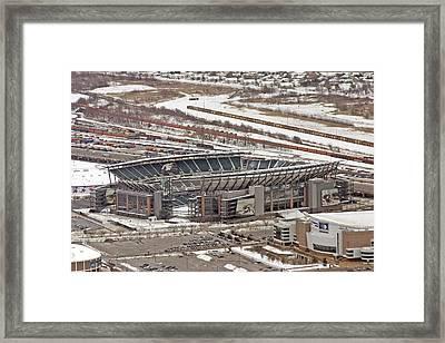 Lincoln Financial Center Philadelphia Framed Print by Duncan Pearson