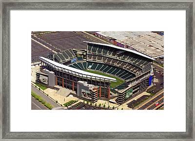 Lincoln Financial Field Philadelphia Eagles Framed Print by Duncan Pearson