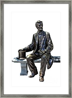 Lincoln Framed Print by Olivier Le Queinec