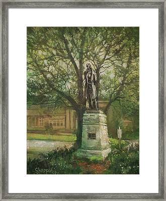 Lincoln Rises Again Framed Print by Tom Shropshire