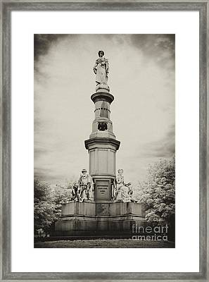 Lincolns Gettysburg Address Site - Toned Framed Print by Paul W Faust -  Impressions of Light