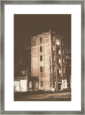 Lincolns Oakbank Brewery Framed Print by Jorgo Photography - Wall Art Gallery